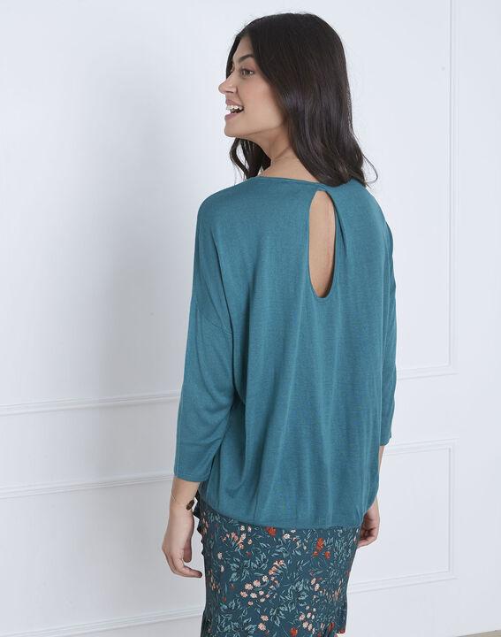 Avenir blue pullover with elegant collar (4) - Maison 123