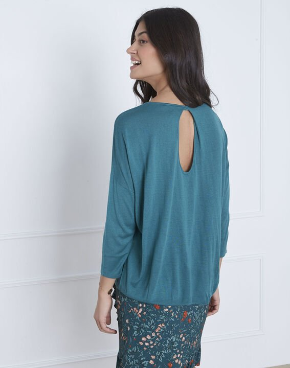 Avenir blue pullover with elegant collar (4) - Maison 123