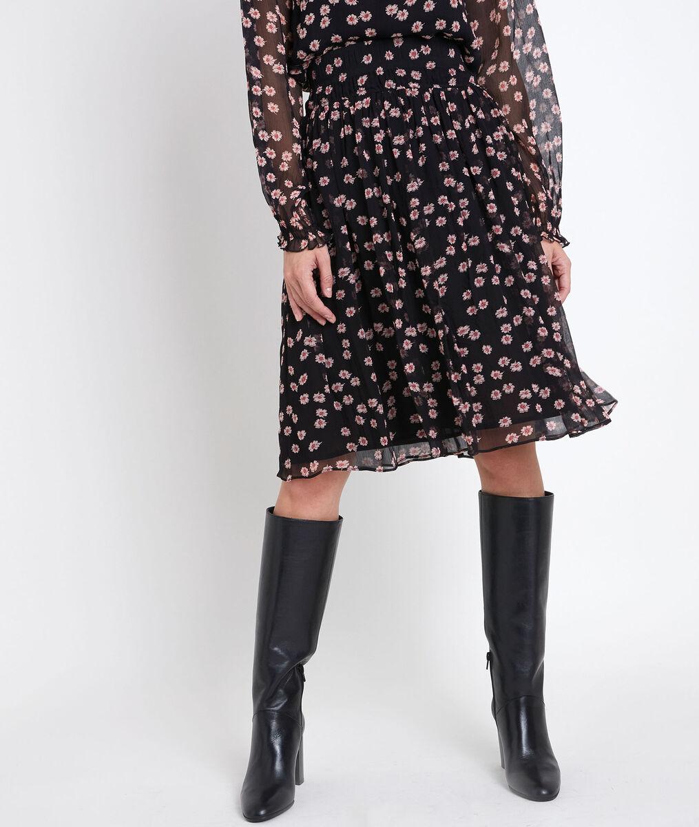 Groseille printed skirt PhotoZ   1-2-3