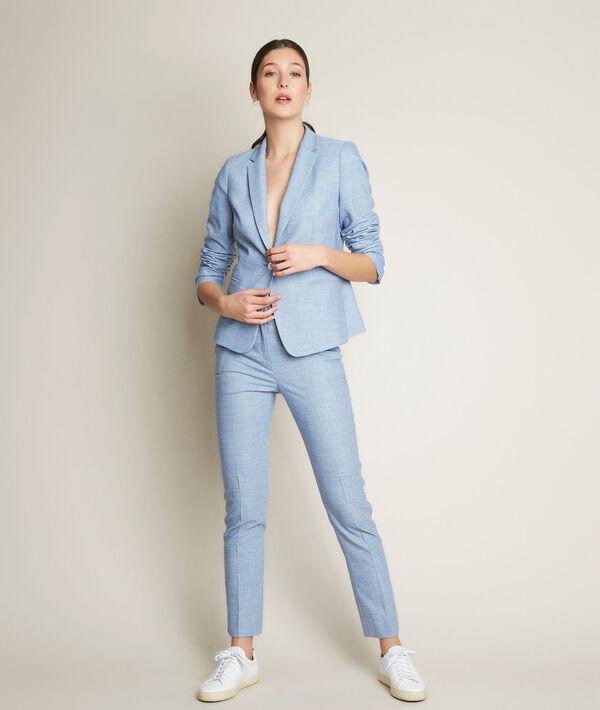 Harry sky blue fancy trousers PhotoZ | 1-2-3