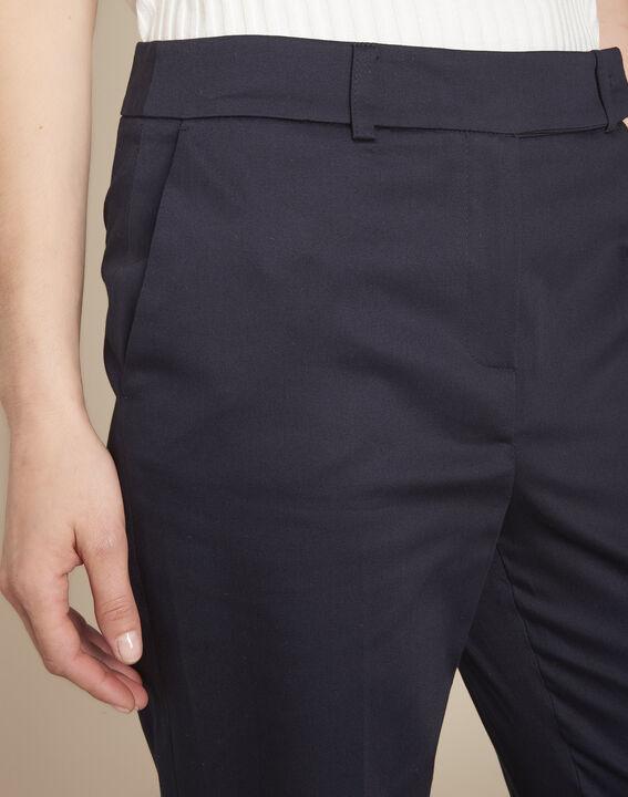 Rubis navy cigarette-cut trousers (3) - Maison 123