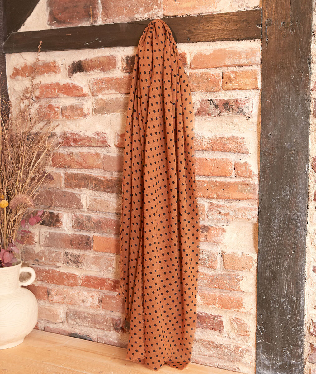 Hasmae spotted scarf PhotoZ | 1-2-3