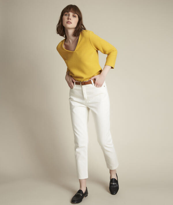 Regate shiny yellow top PhotoZ | 1-2-3