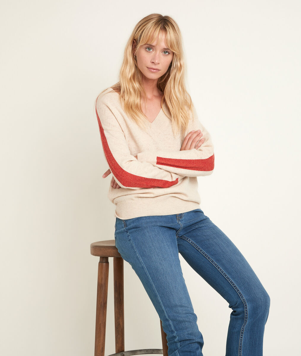 Romy wool and cashmere pullover PhotoZ | 1-2-3