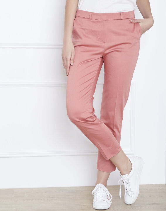 Rubis pink cigarette trousers (2) - Maison 123