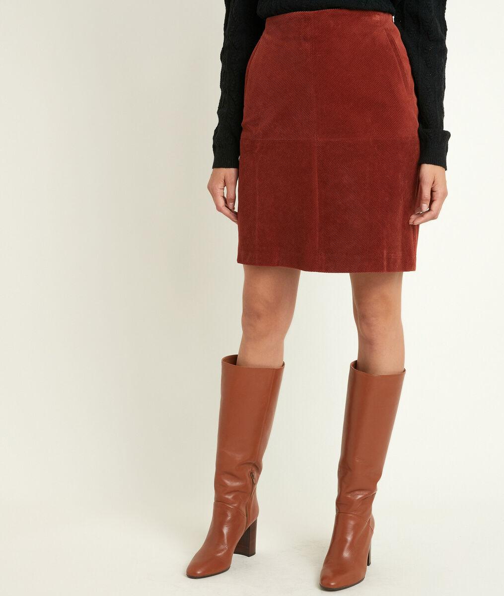 Gamra velvet A-line skirt PhotoZ | 1-2-3