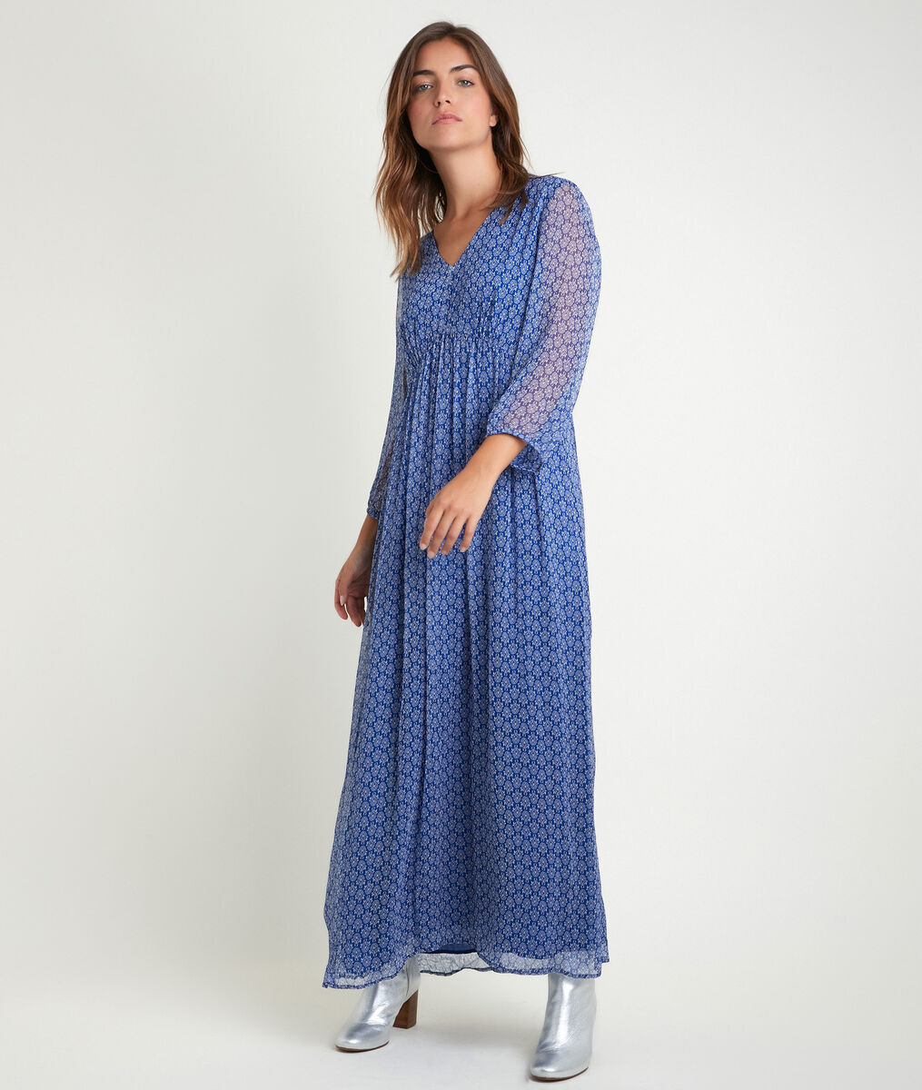 Claude bis printed maxi dress PhotoZ | 1-2-3