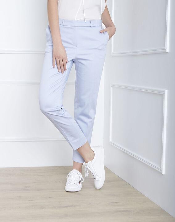 Rubis sky blue cigarette trousers (1) - Maison 123