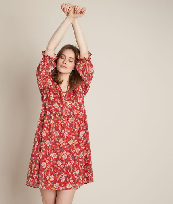 Clorane printed dress PhotoZ | 1-2-3