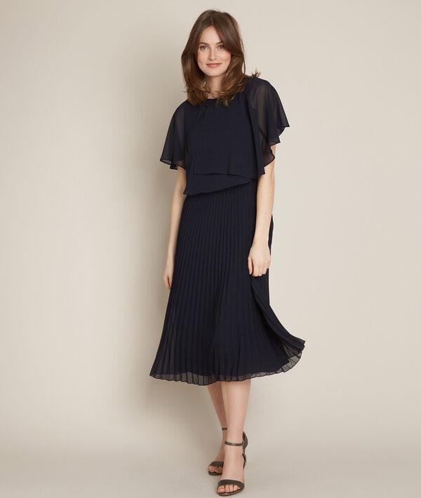 Ornella pleated midi dress PhotoZ | 1-2-3