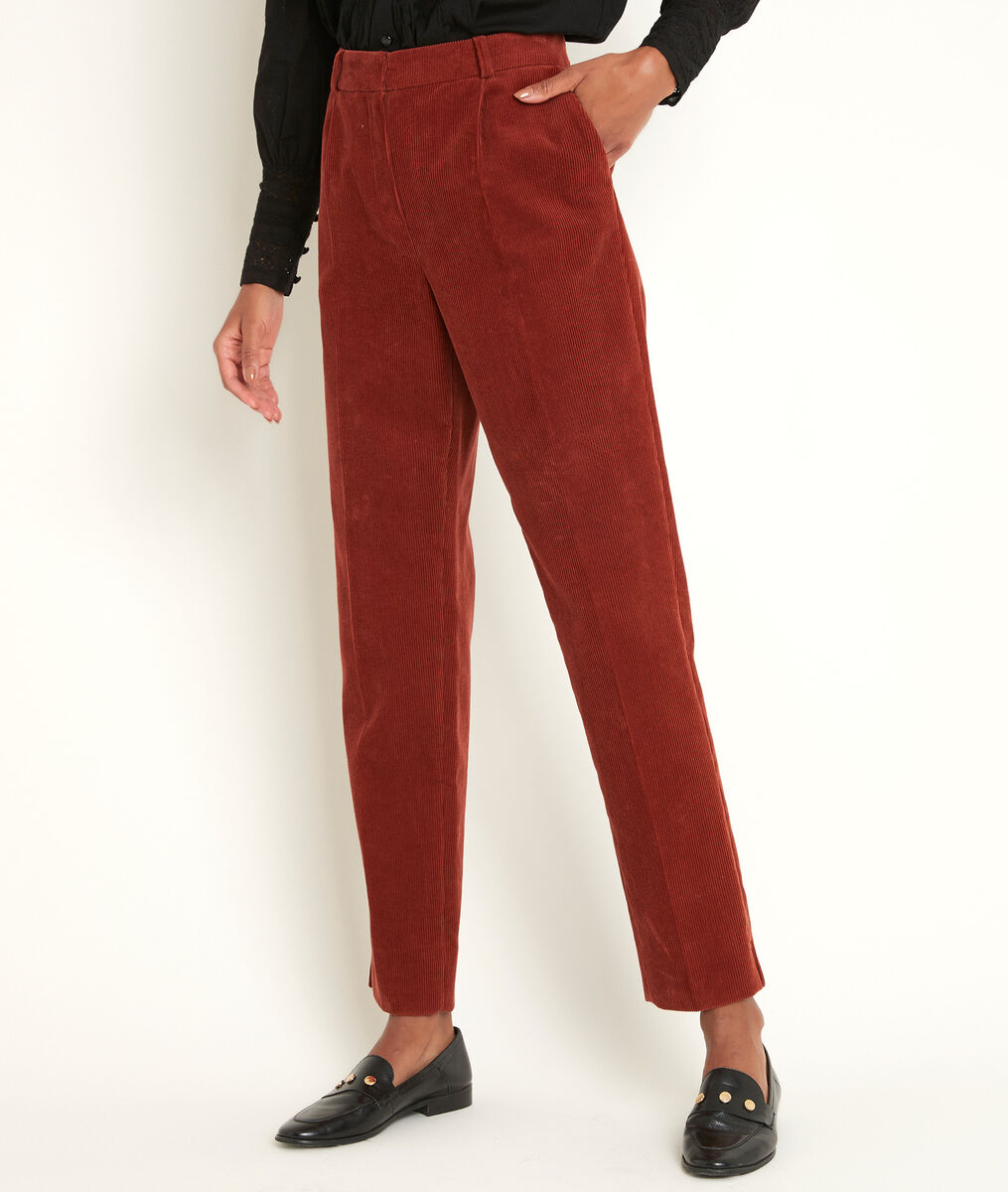 Isaure velvet cigarette trousers PhotoZ | 1-2-3