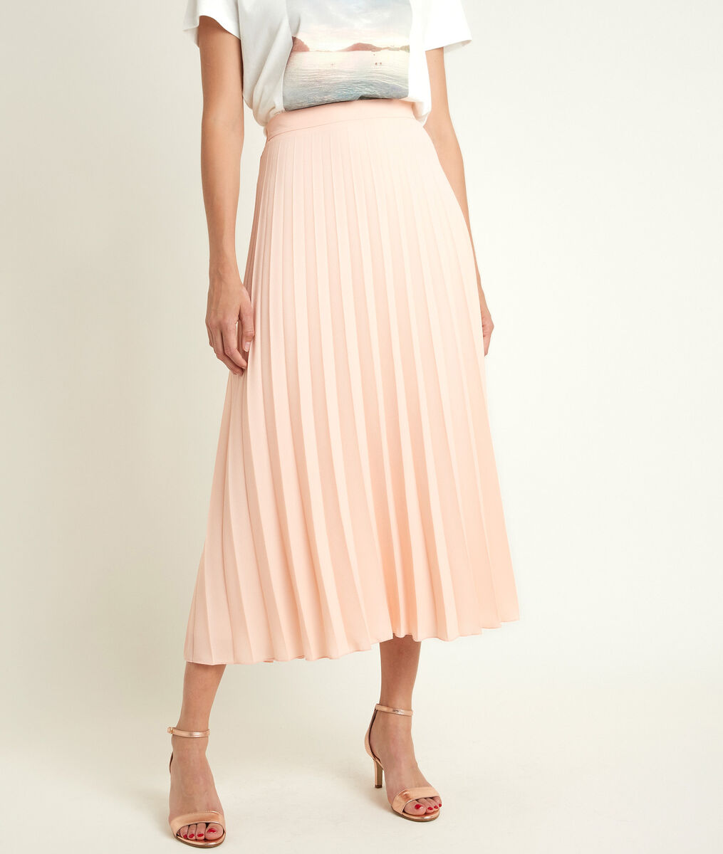 Gema pleated maxi skirt PhotoZ | 1-2-3