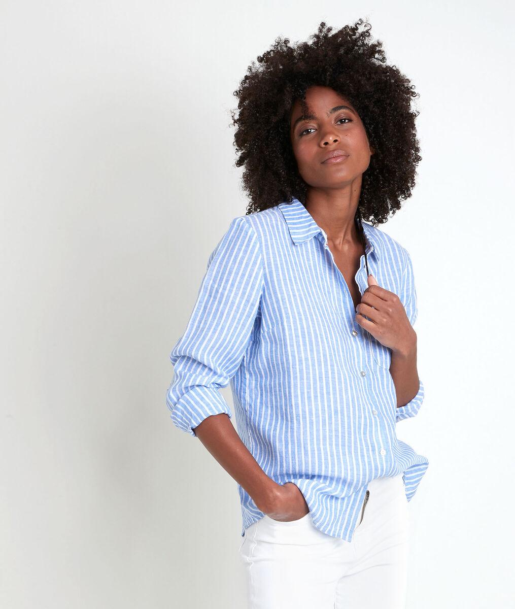 VENETIA striped linen shirt PhotoZ | 1-2-3