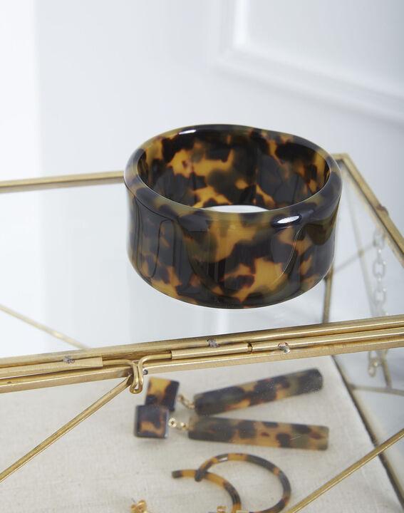 Tiffaine tortoiseshell resin bracelet PhotoZ | 1-2-3