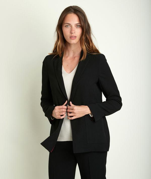 Leonie crêpe jacket PhotoZ   1-2-3