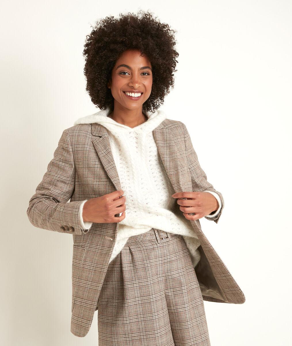 Thelma lurex checked jacket PhotoZ | 1-2-3