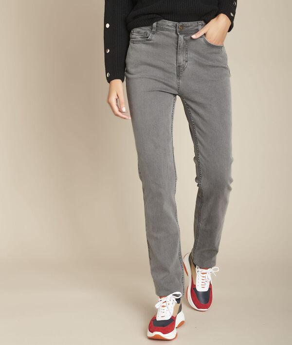 Sonia, the Original 123 straight-leg marl jeans PhotoZ | 1-2-3
