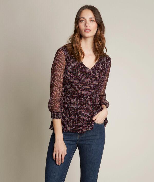 Esmée printed blouse PhotoZ | 1-2-3