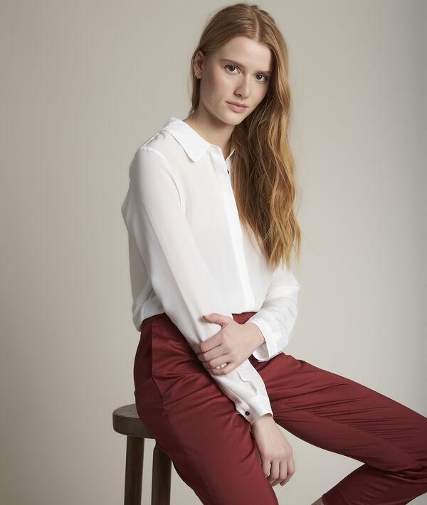 Maelle silk shirt PhotoZ | 1-2-3