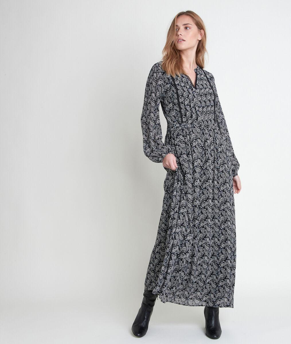 LEA maxi paisley print dress PhotoZ | 1-2-3