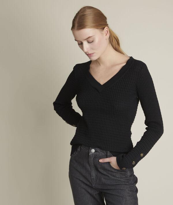 Dolmen black pullover PhotoZ | 1-2-3