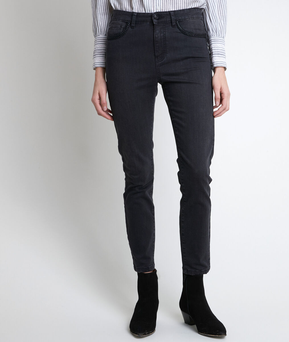 The iconic Paco slim-fit woven jeans PhotoZ | 1-2-3