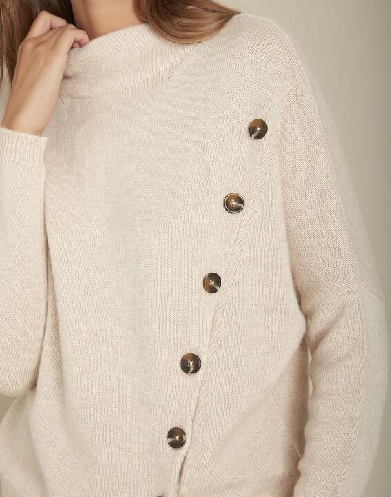 Flèche woollen jumper with button detailing PhotoZ | 1-2-3