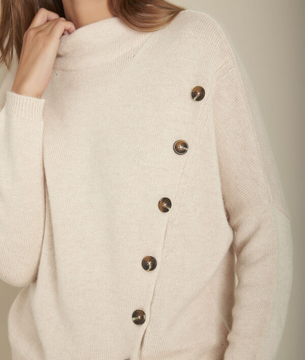 Flèche woollen jumper with button detailing PhotoZ | 1-2-3