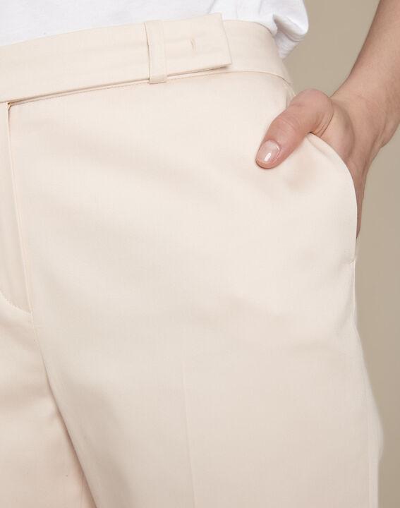 Rubis powder-coloured cigarette trousers (3) - Maison 123