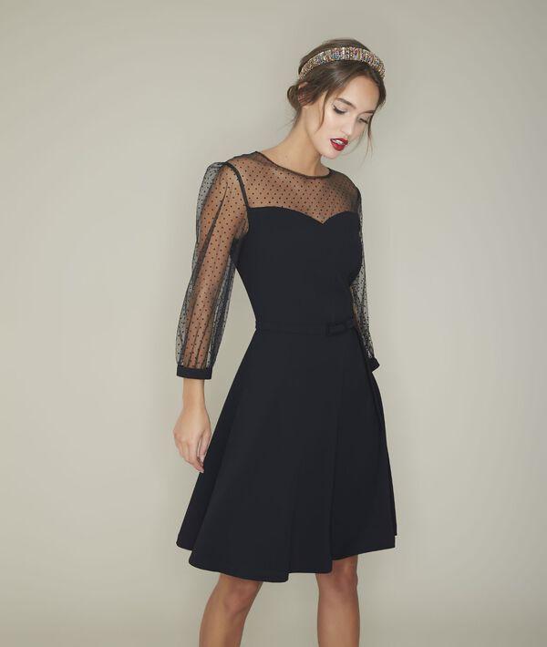Rina tulle crepe dress PhotoZ   1-2-3