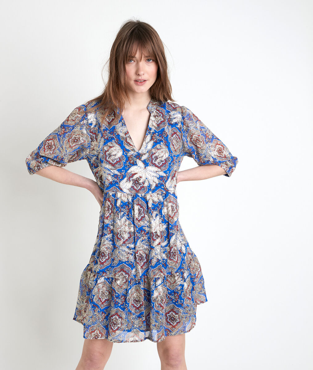 MADELEINE forget-me-not print dress PhotoZ | 1-2-3