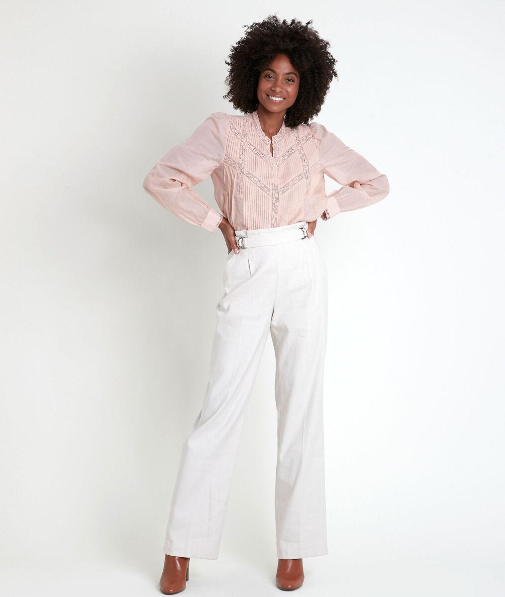 TARA lace powder blouse PhotoZ   1-2-3