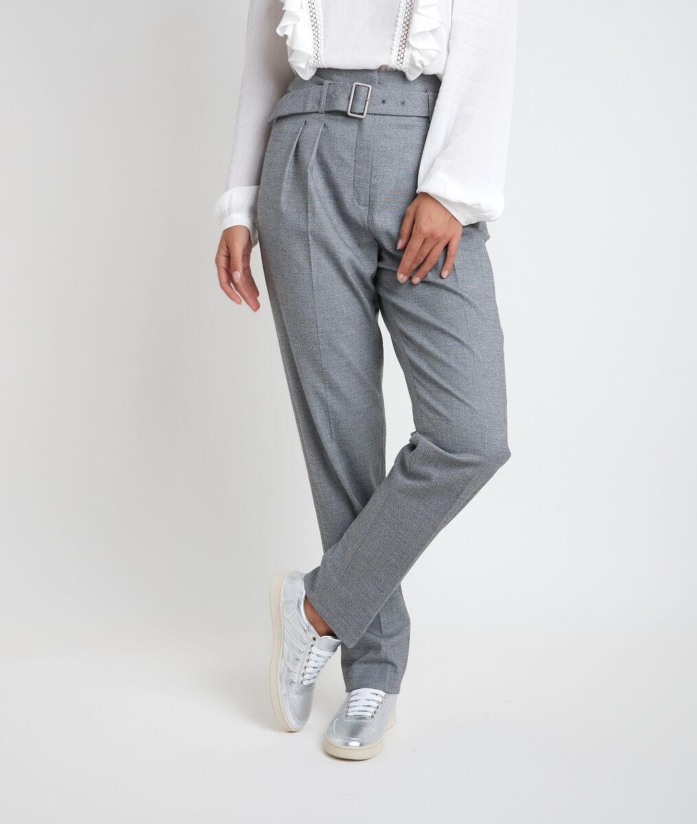 Iris end-to-end weave cigarette trousers PhotoZ | 1-2-3