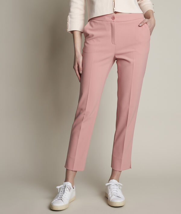 Suzanne microfibre cigarette trousers PhotoZ | 1-2-3