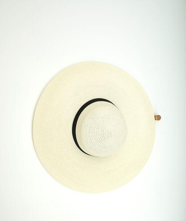 Olga raffia floppy hat PhotoZ | 1-2-3