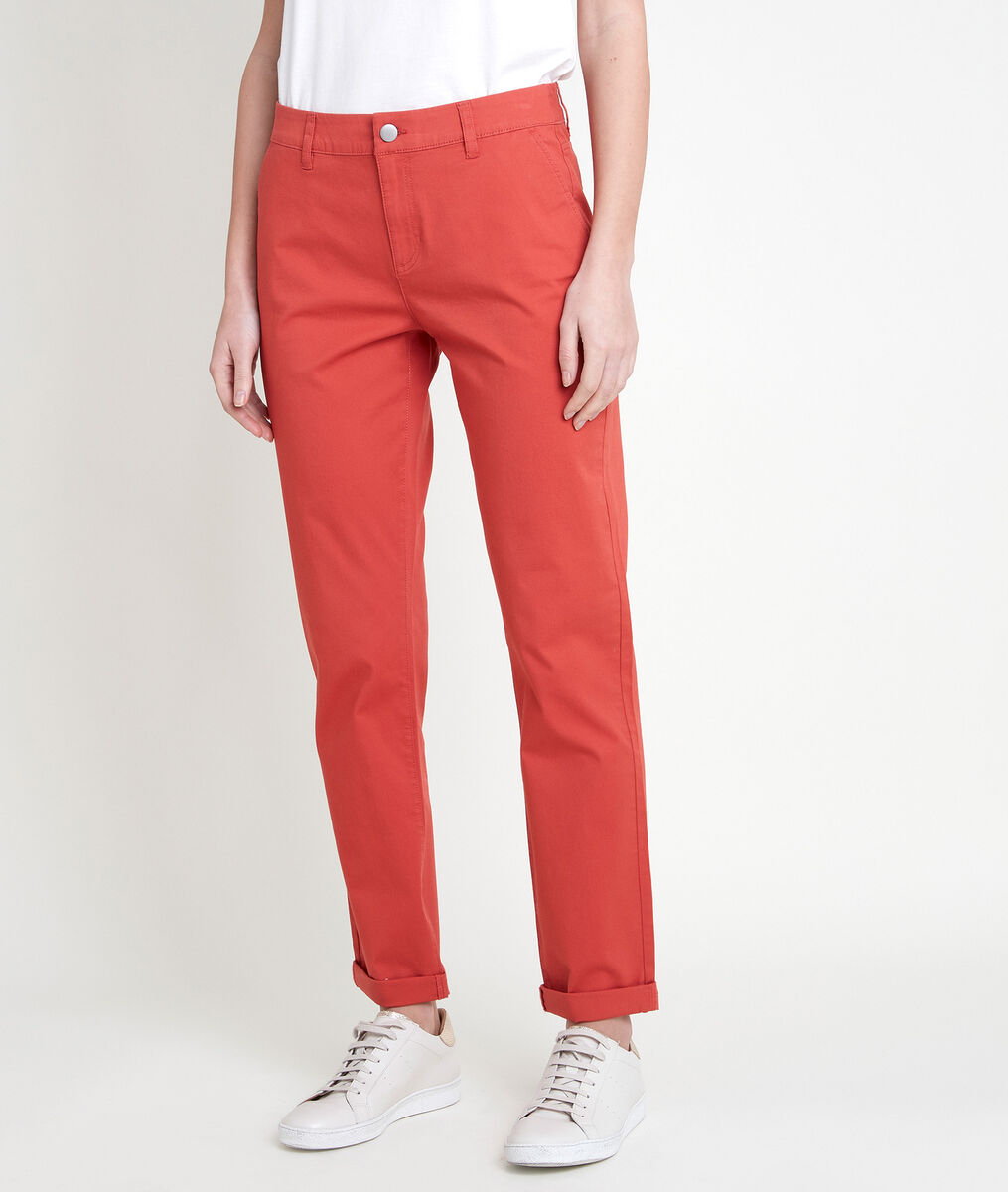 FRANCIS orange chinos PhotoZ | 1-2-3
