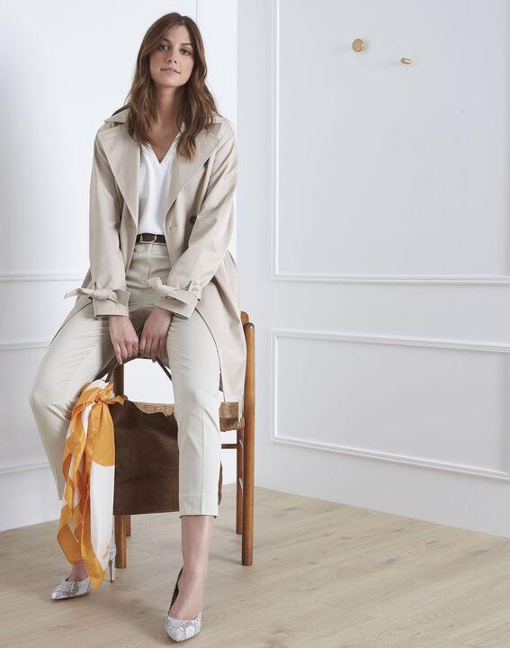 Rubis beige cigarette-cut trousers PhotoZ | 1-2-3