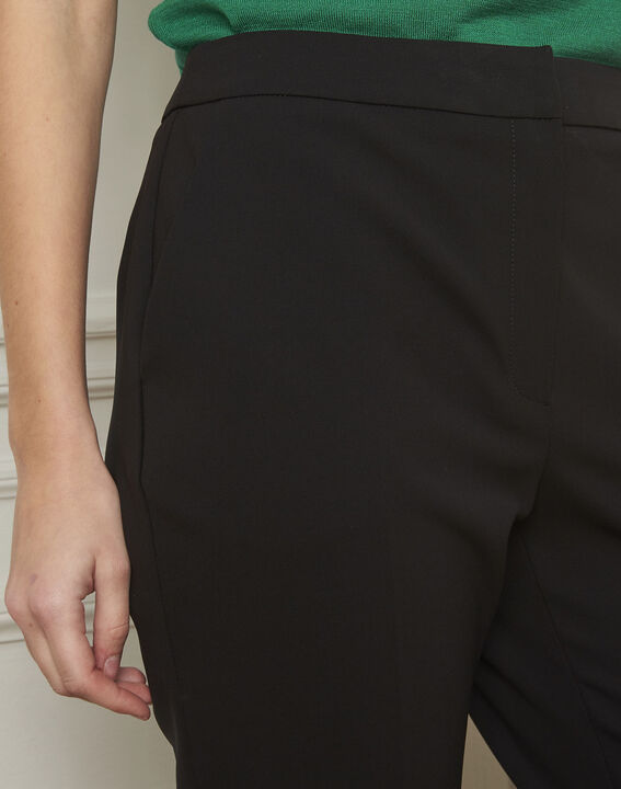 Gaston flared black trousers (4) - Maison 123