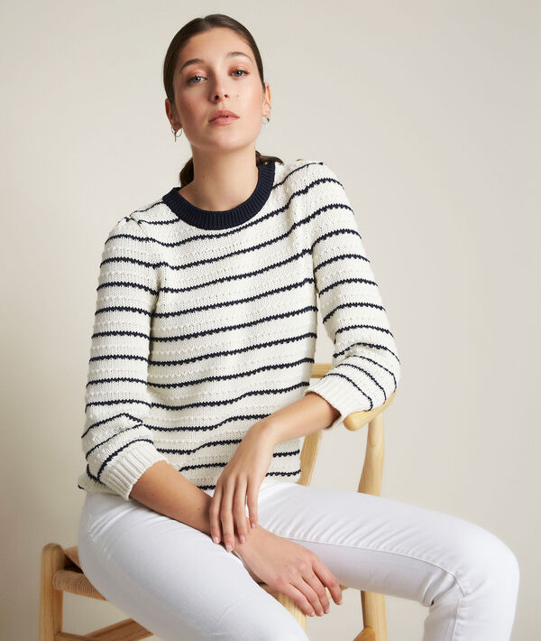 Daphnee striped pullover PhotoZ | 1-2-3