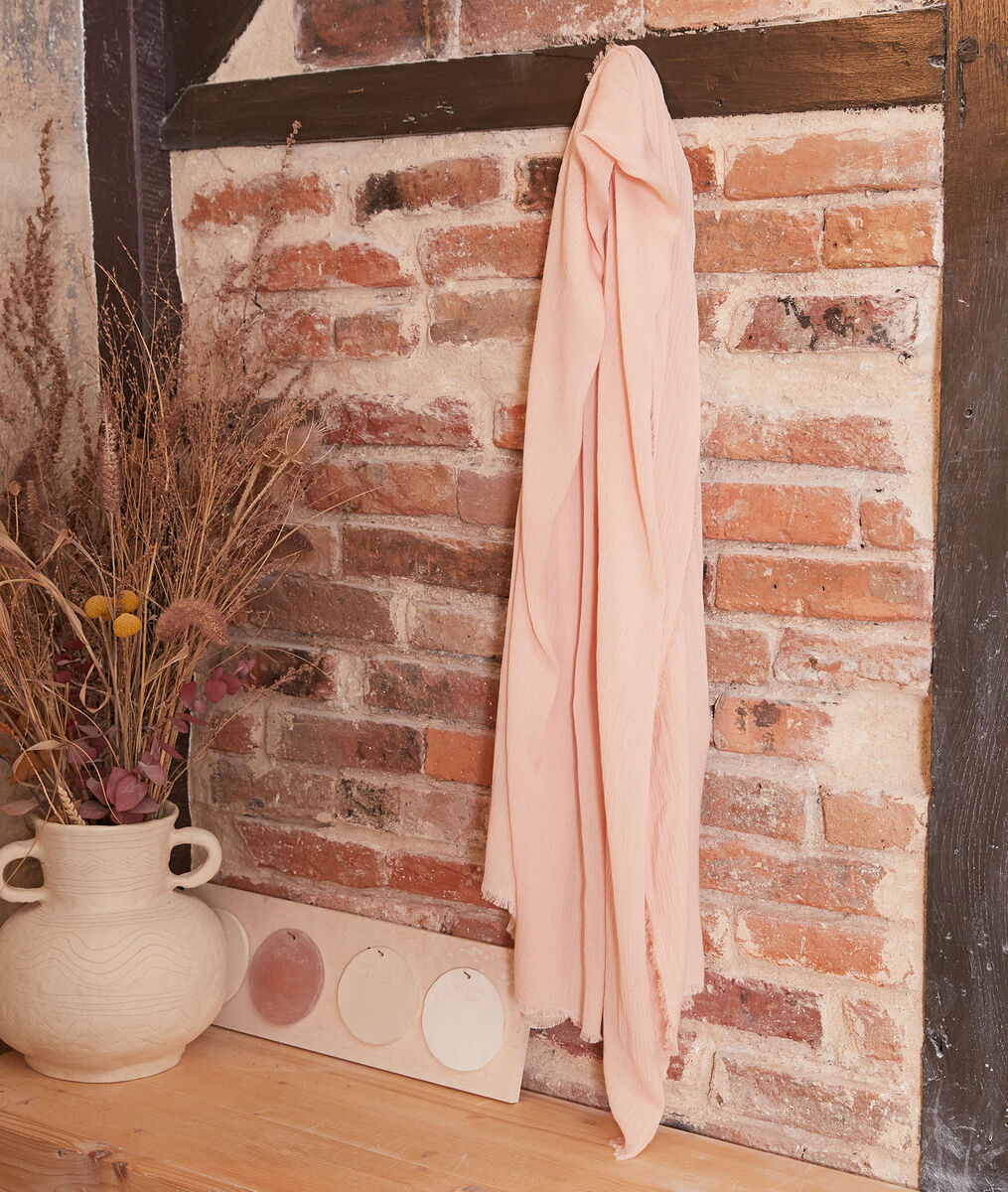 Halma pink scarf PhotoZ | 1-2-3