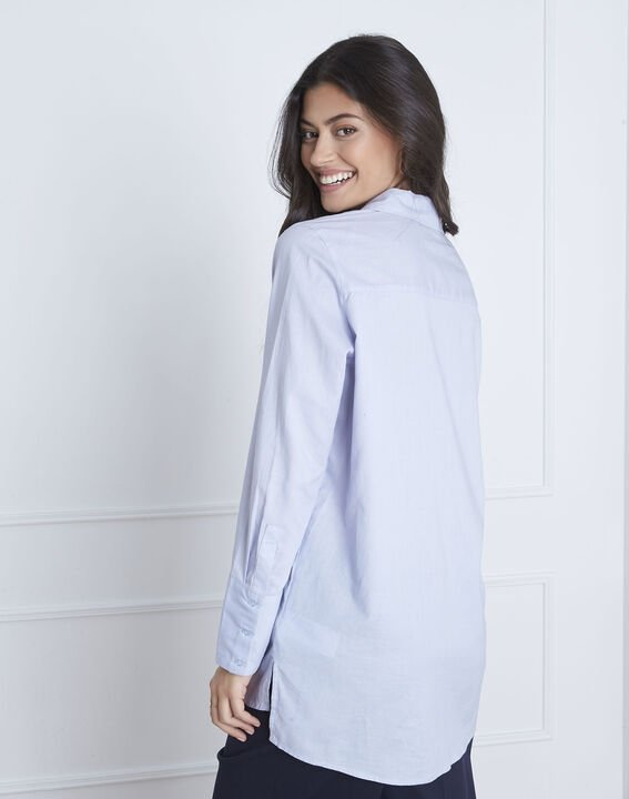 Valza blue shirt with silver details (4) - Maison 123