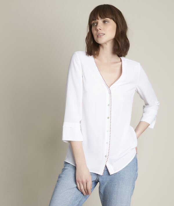 Estrella blouse in recycled polyester PhotoZ | 1-2-3