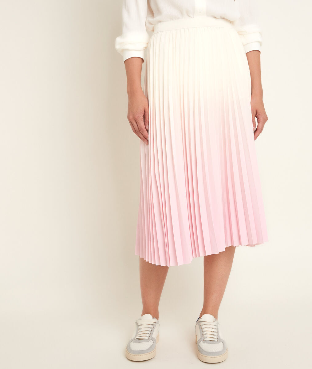 Basile faded pleated skirt PhotoZ | 1-2-3
