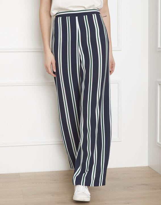 Griffon navy striped trousers PhotoZ   1-2-3