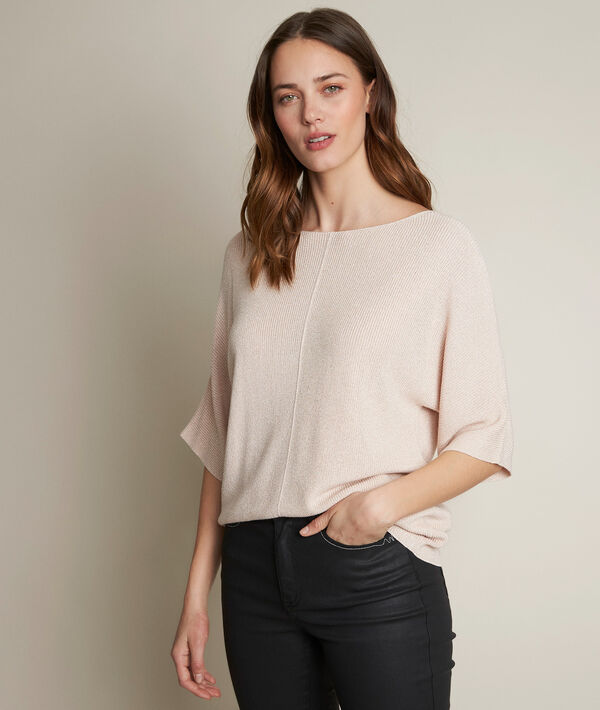 Diane sparkly nude pullover PhotoZ | 1-2-3