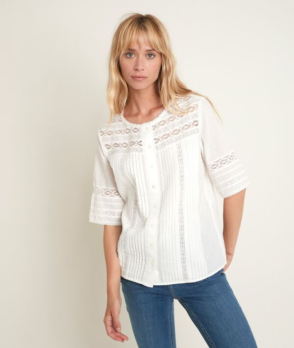 Edia lace blouse PhotoZ   1-2-3