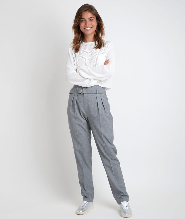 Iris end-to-end weave cigarette trousers PhotoZ   1-2-3
