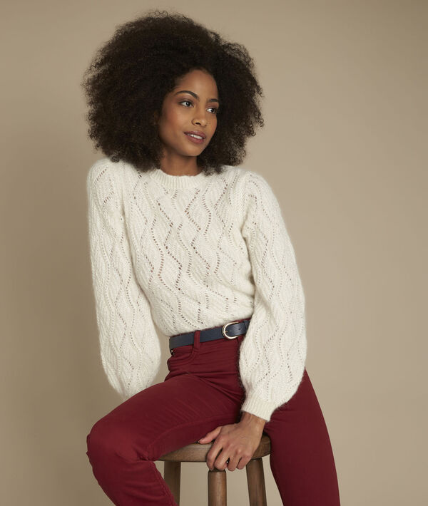 Fable openwork pullover PhotoZ | 1-2-3