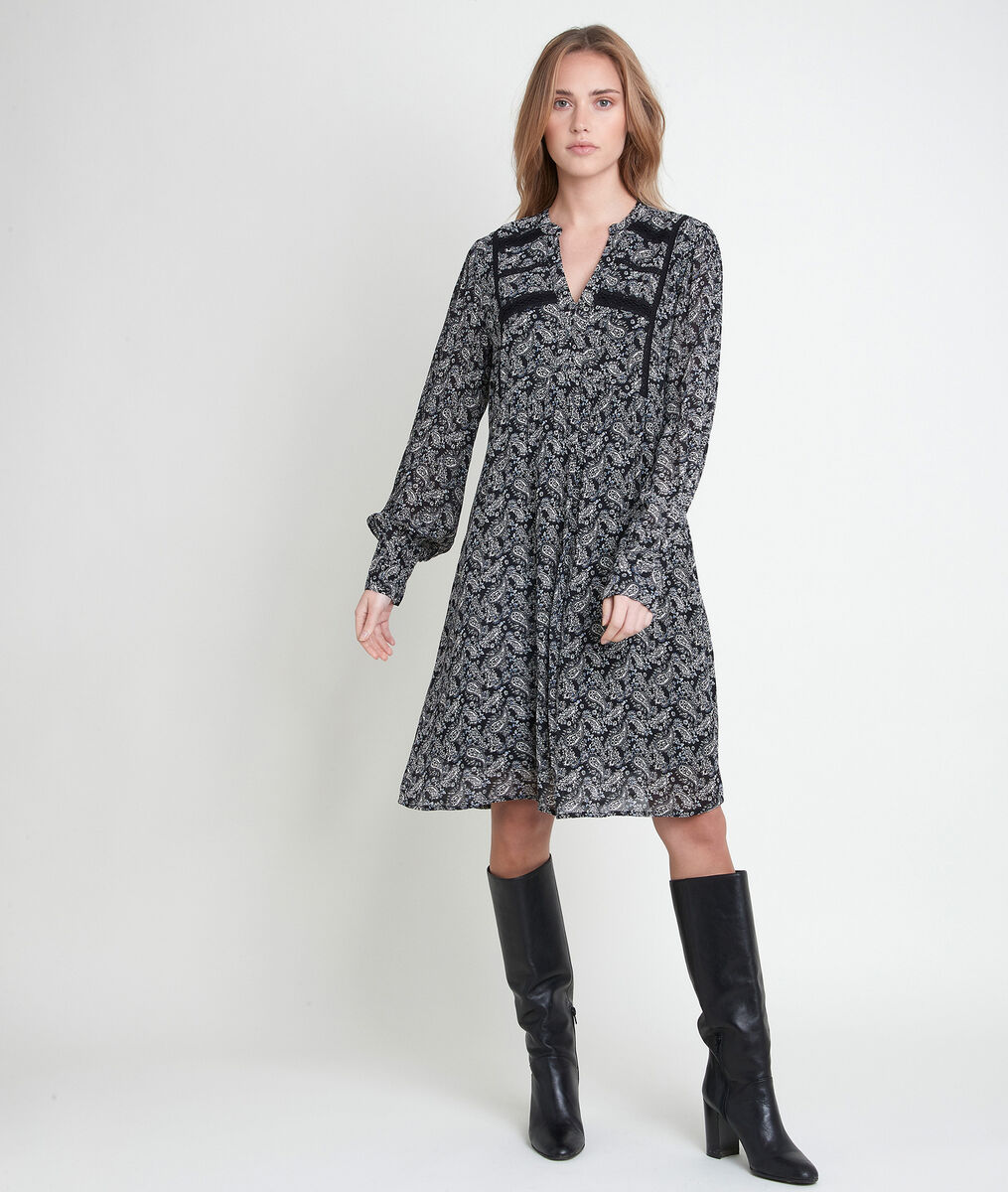 Lois printed dress PhotoZ | 1-2-3
