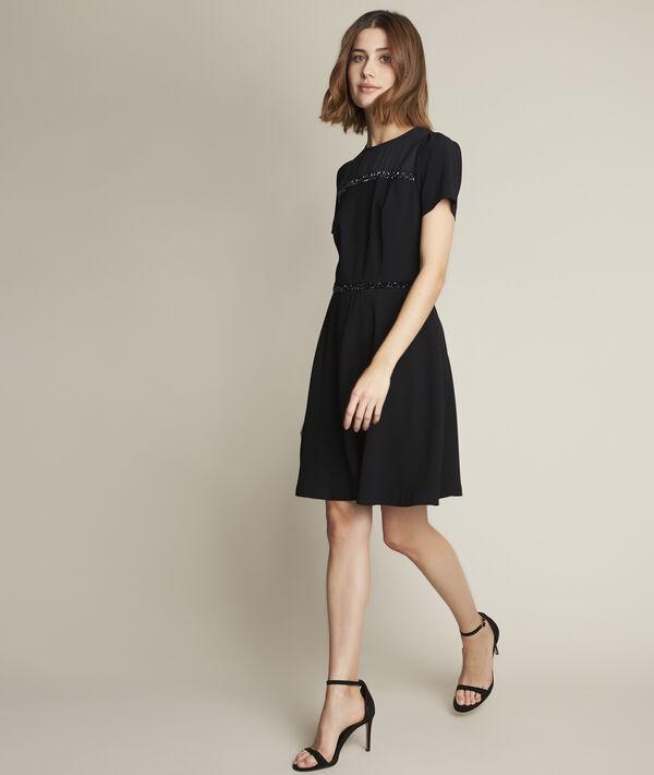 Ness short rhinestone-detail dress PhotoZ | 1-2-3